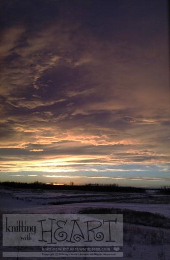 sunset December 9th, 2014