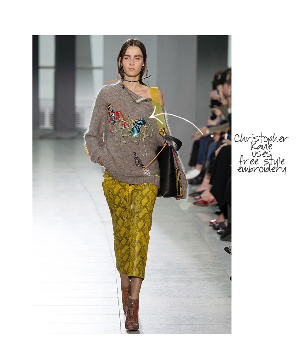 Knitting Fashion 2015 : Top fashion designers use knitting crochet and embroidery